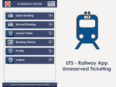 UTS App for booking unreserved tickets