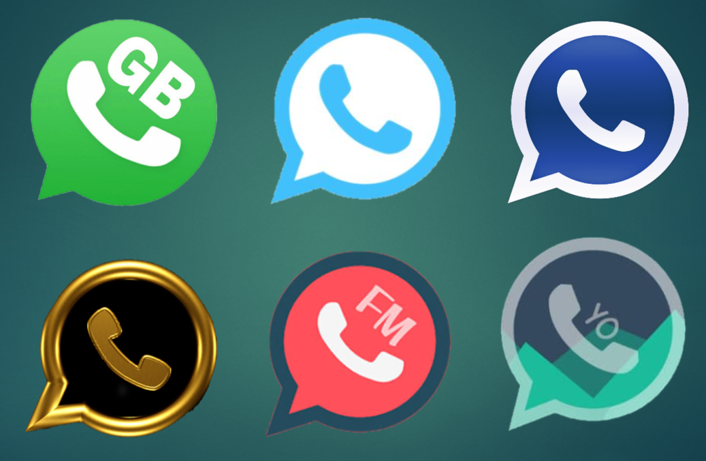 Modded Apps mentioned are GB Whatsapp, Whatsapp Blue, Whatsapp Plus, Whatsapp Gold, FM Whatsapp, Yo Whatsapp