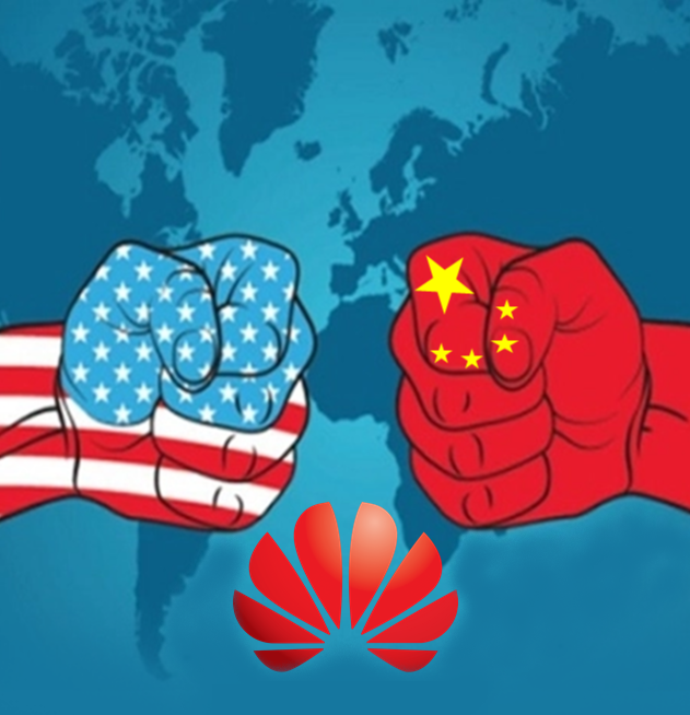 Huawei Ban and its impact| Detailed explanation Image: Huawei banned by US Government to deal with American companies. Image by www.priteshpawar.com