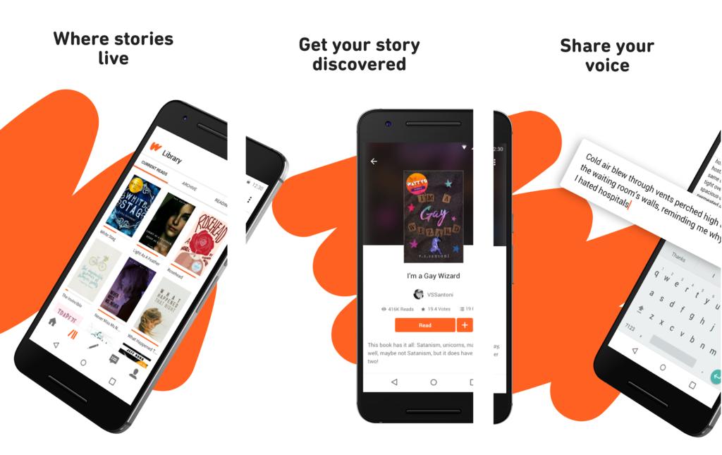 Online Writing Apps for Aspiring Novelists to write Novels - Wattpad
