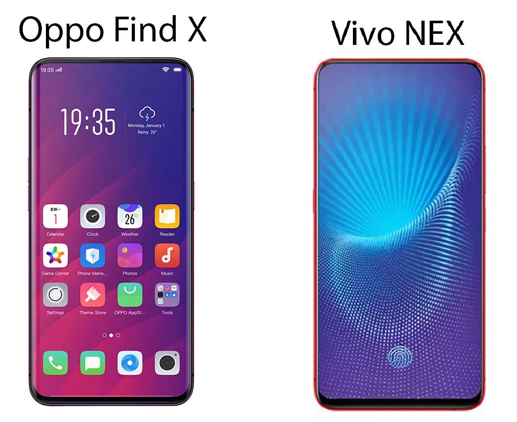Oppo Find X & Vivo NEX