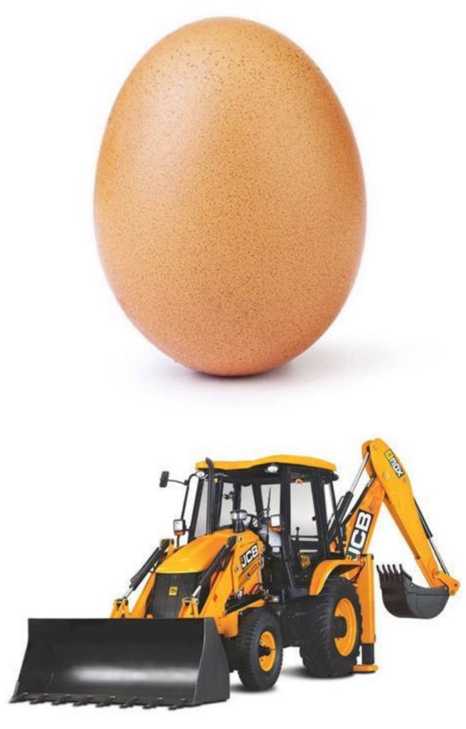 World Record Egg and JCB ki Khudai