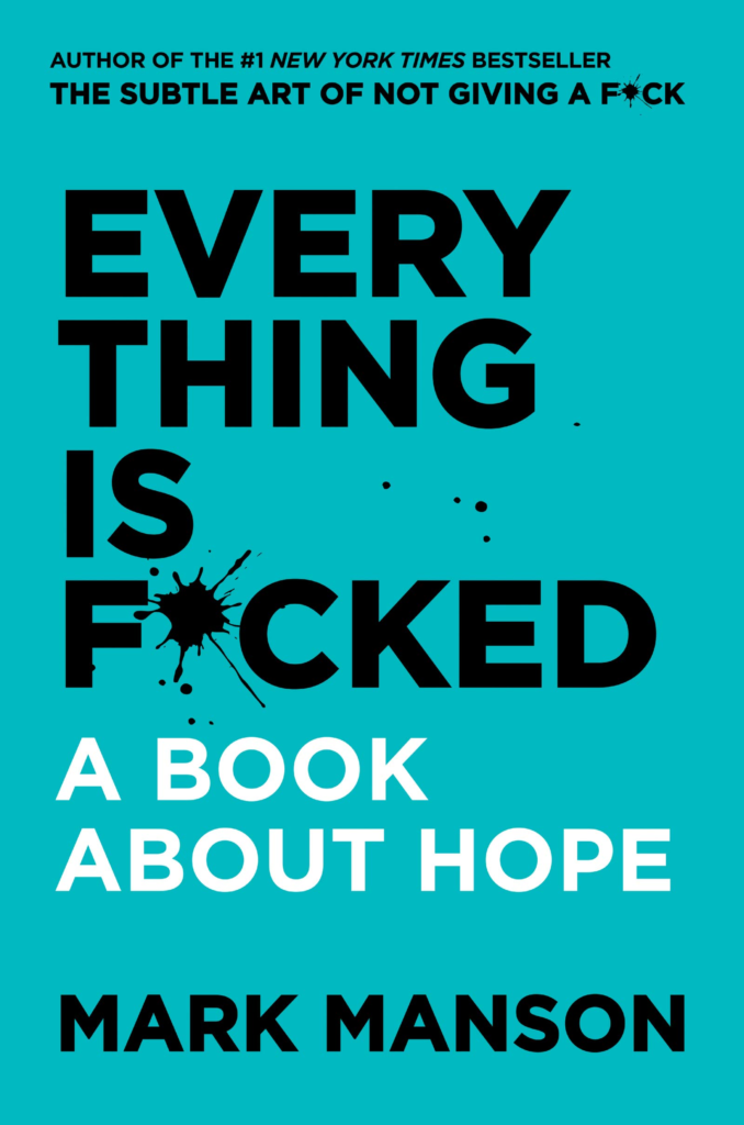 Google Play Best Book of 2019 Everything is F*cked by Mark Manson