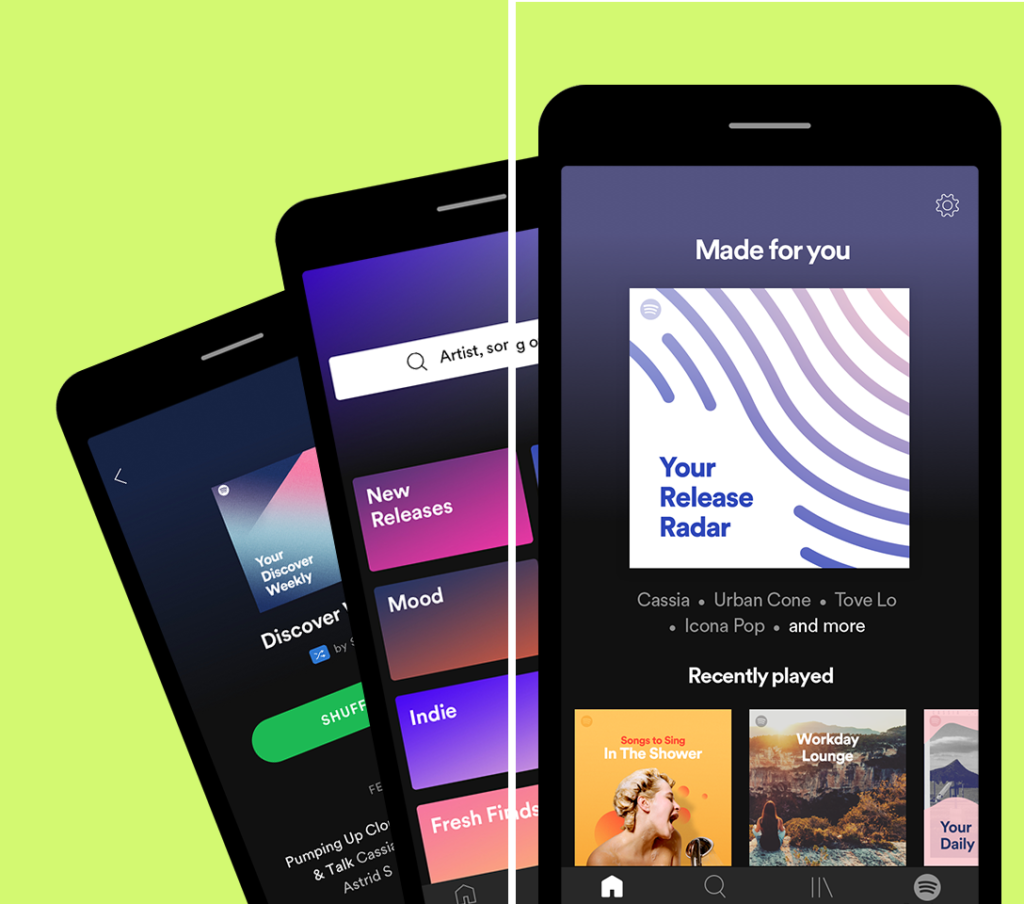 Google Play Users' Choice App of 2019 - Spotify Best Android Apps 2019