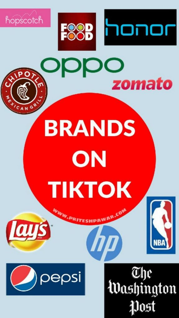 Brands on TikTok for Marketing