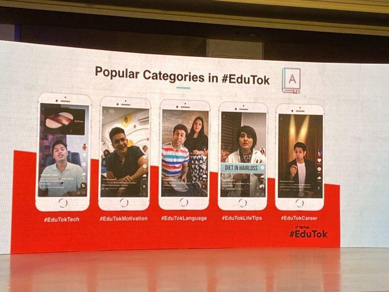 Popular Categories on EduTok TikTok