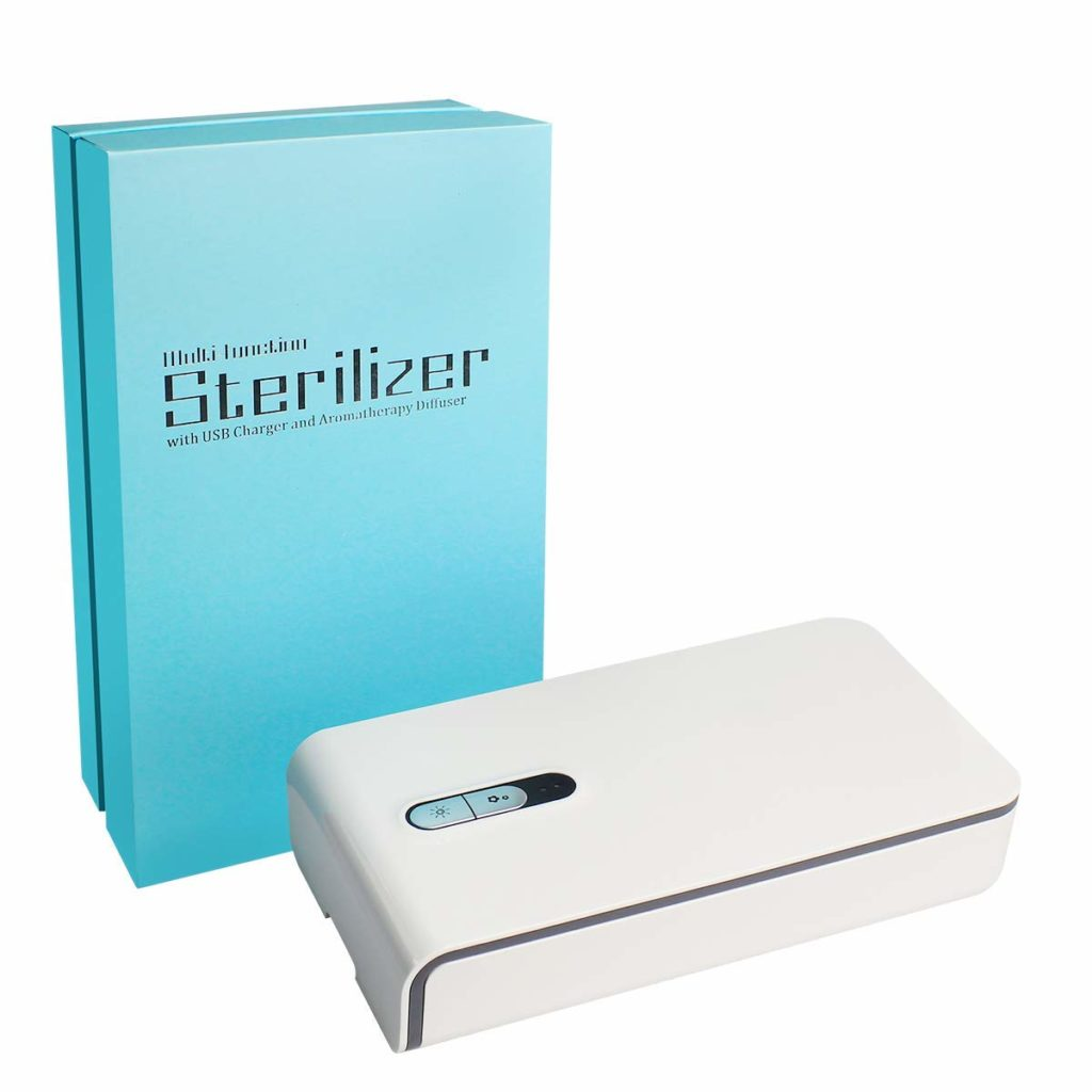 Disinfect Your Phone using Mobile Sterilizer