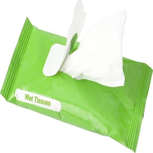 Antibacterial Tissues
