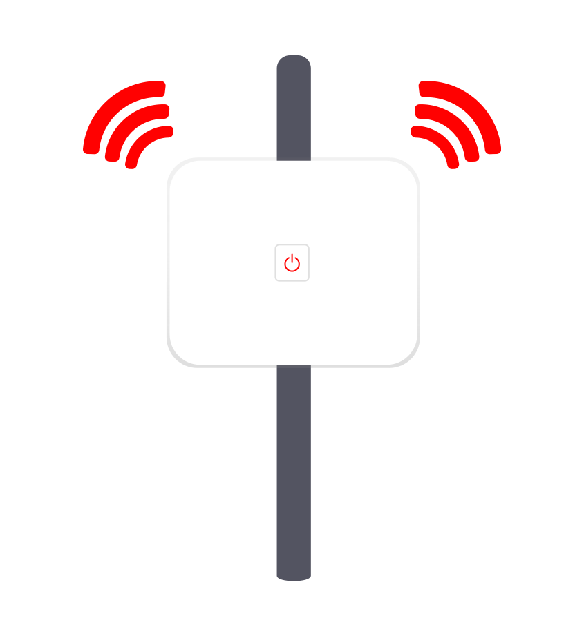 Ethernet Cable or WiFi Router