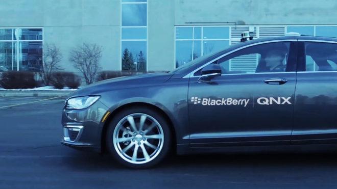 BlackBerry Autonomous Cars