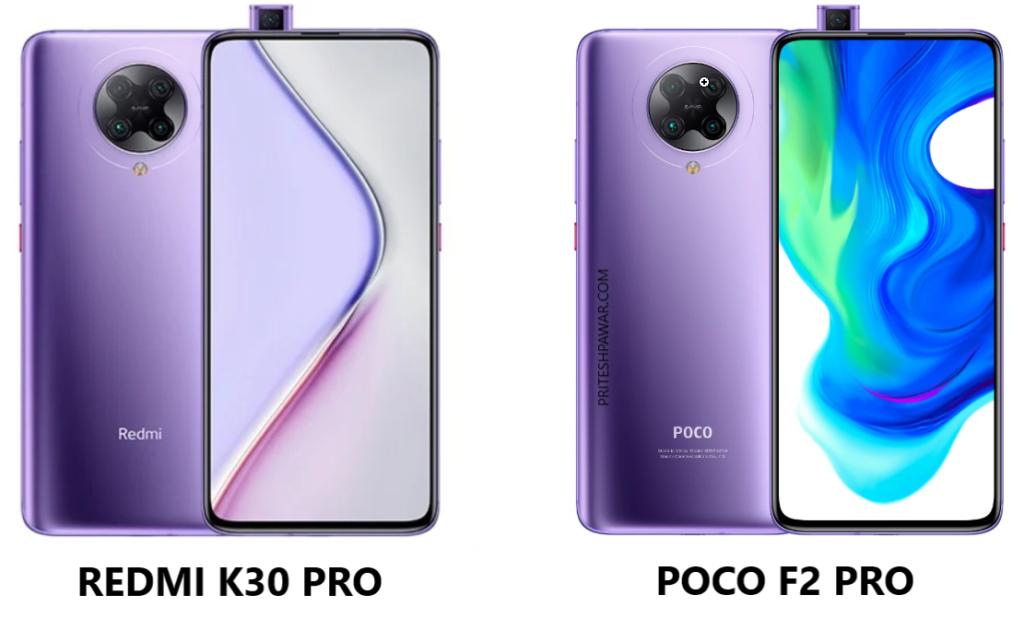 Redmi K30 Pro and Poco F2 Pro - Rebranding Example