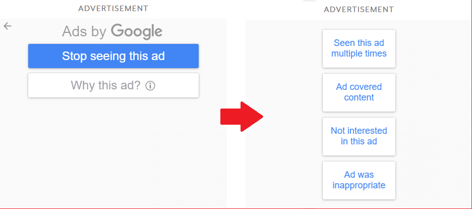 Stop Seeing This Ad by Google can help in Dealing With Online Ads