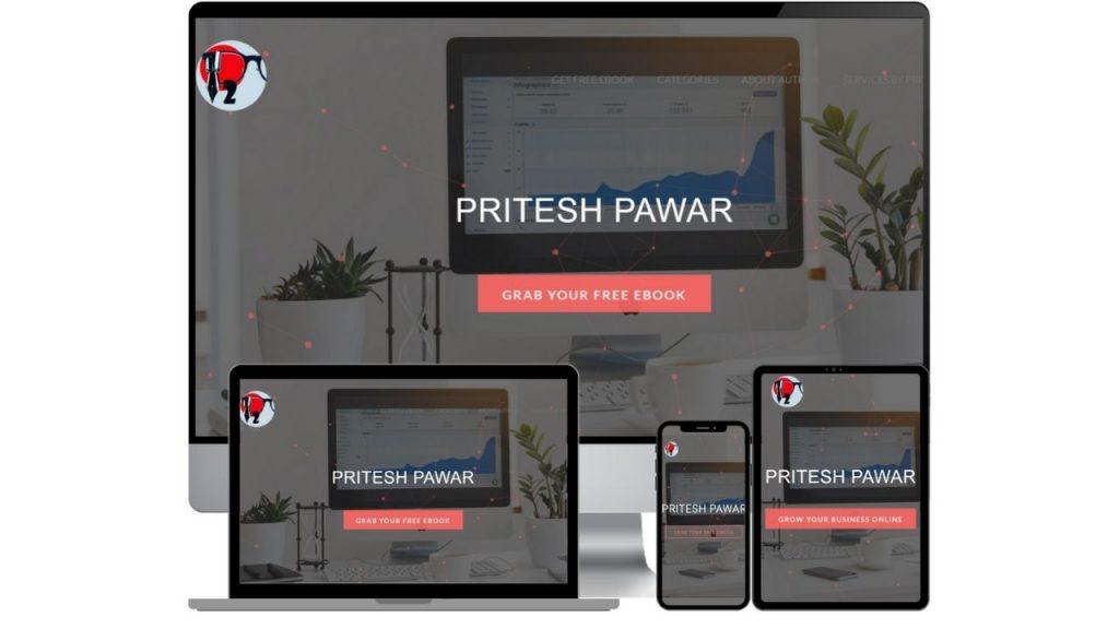Pritesh Pawar Website