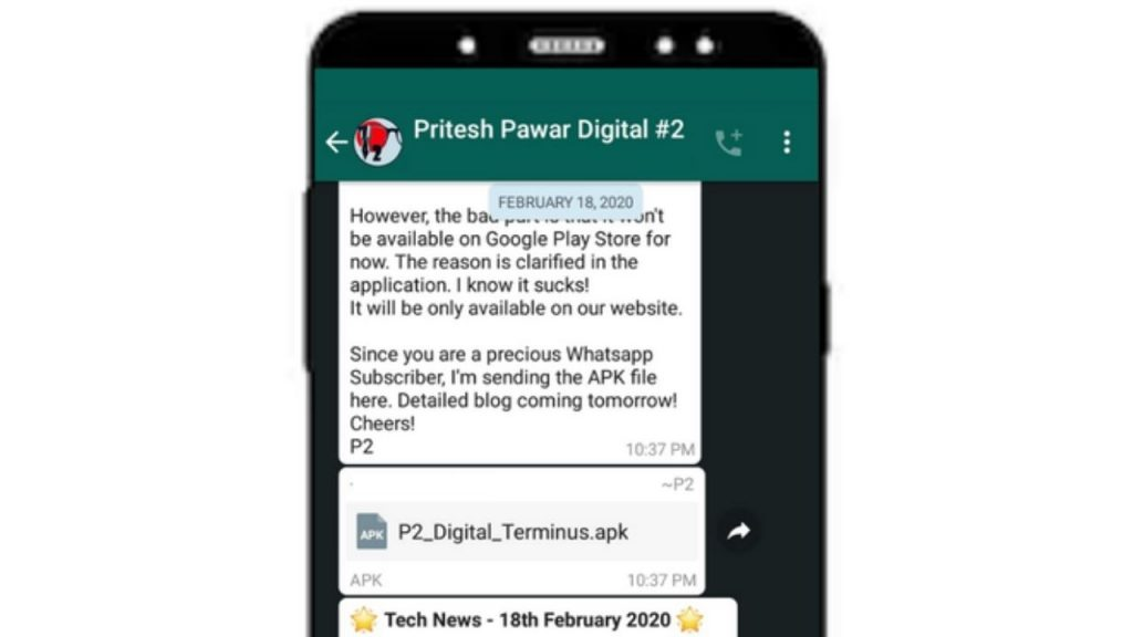 Pritesh Pawar Digital Whatsapp Subscription