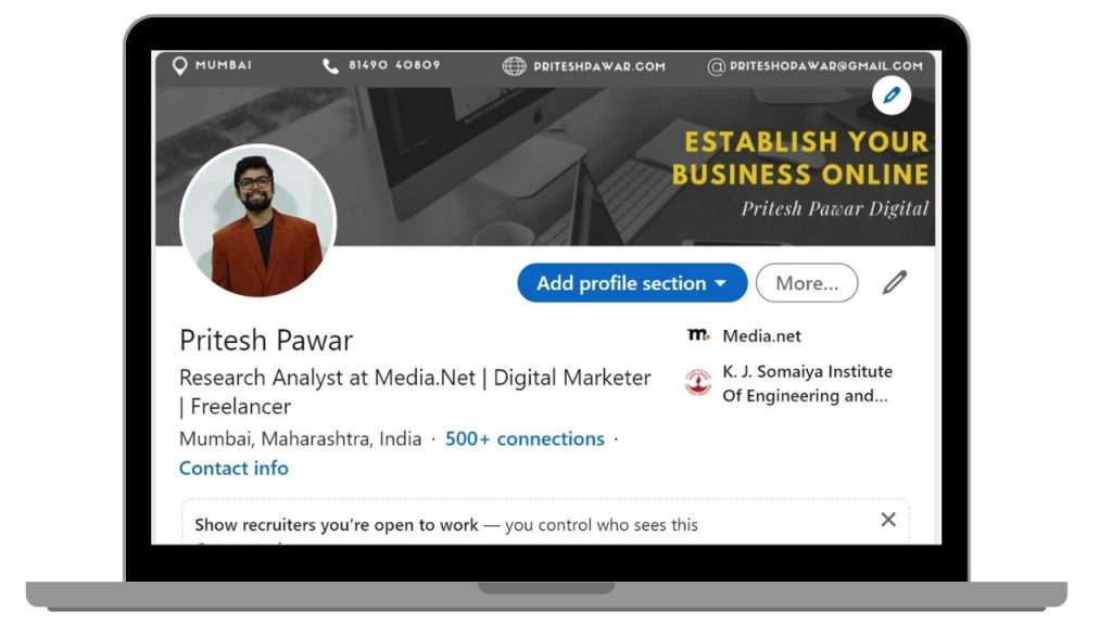 Pritesh Pawar on LinkedIn