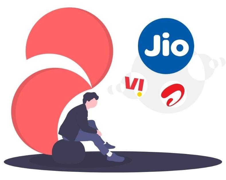 Mobile Recharge Plans - Jio, Airtel, VI