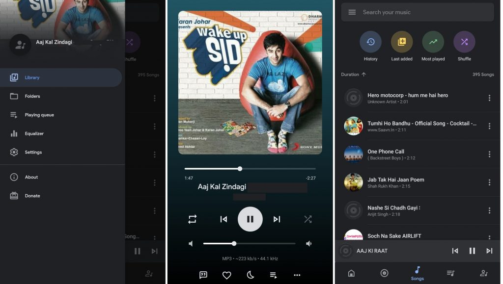 Oto Music Player is one of the best local music players