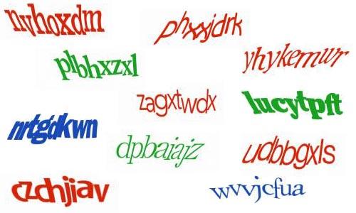 CAPTCHA Text