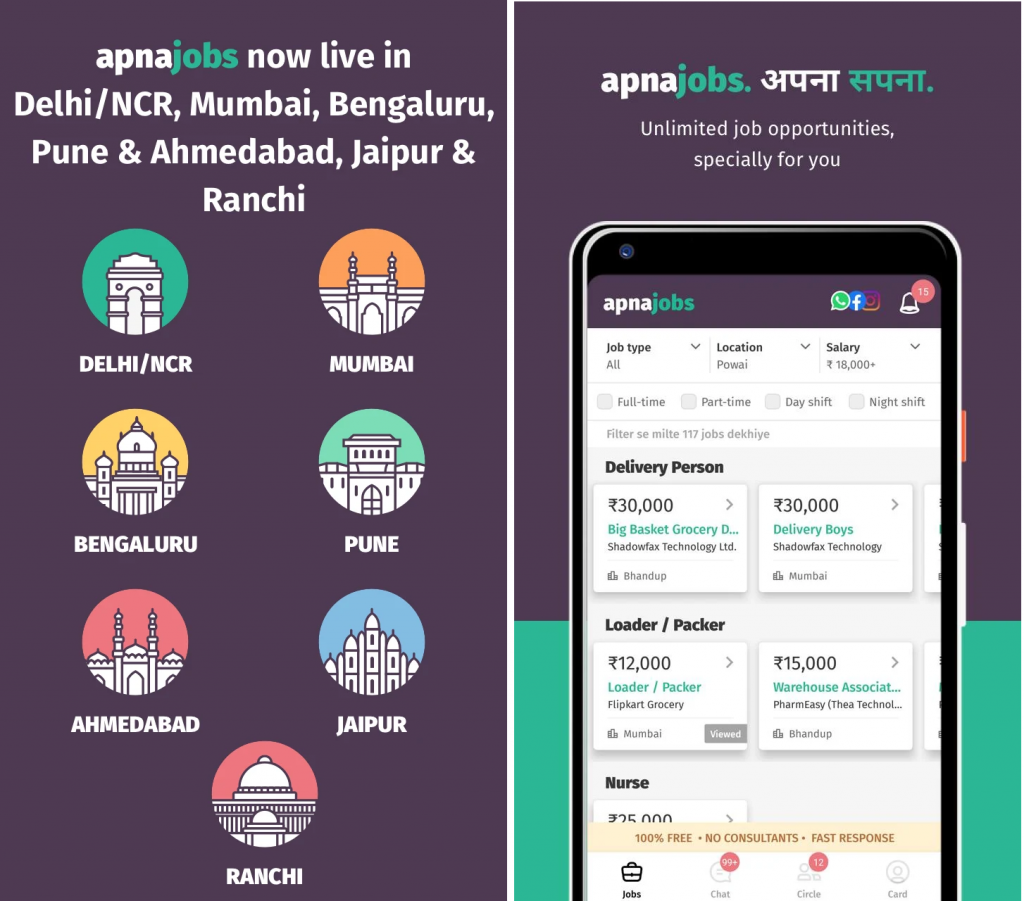 Best Personal Growth Apps of 2020 - Apna Job Search