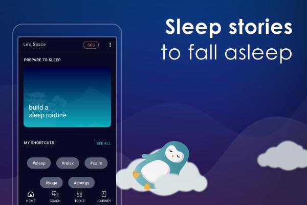 Best App of 2020 - Sleep by Wysa